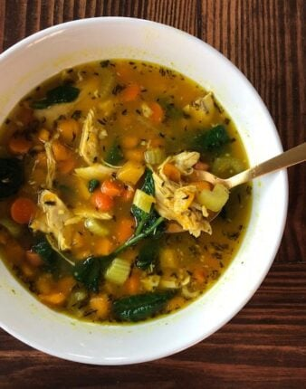 Quick Homemade Chicken Soup