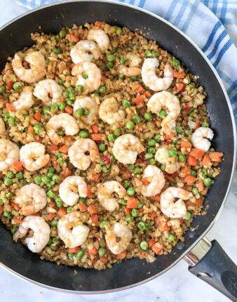 Paleo Shrimp Fried Rice