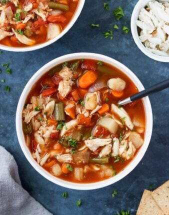 Whole30 Maryland Crab Soup
