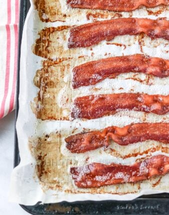 No Mess, Perfectly Baked Bacon
