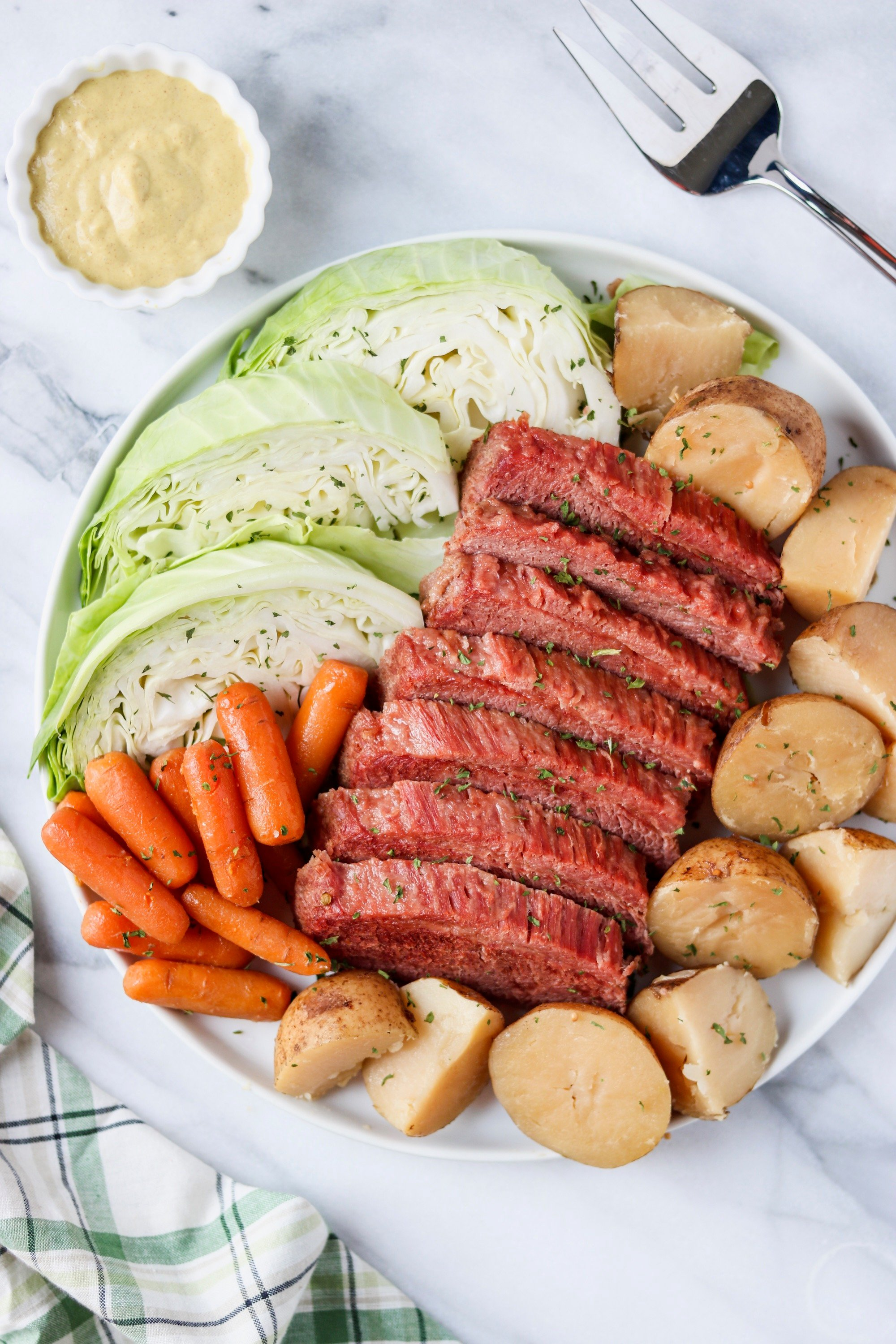 Slow Cooker Corned Beef And Cabbage Mary S Whole Life