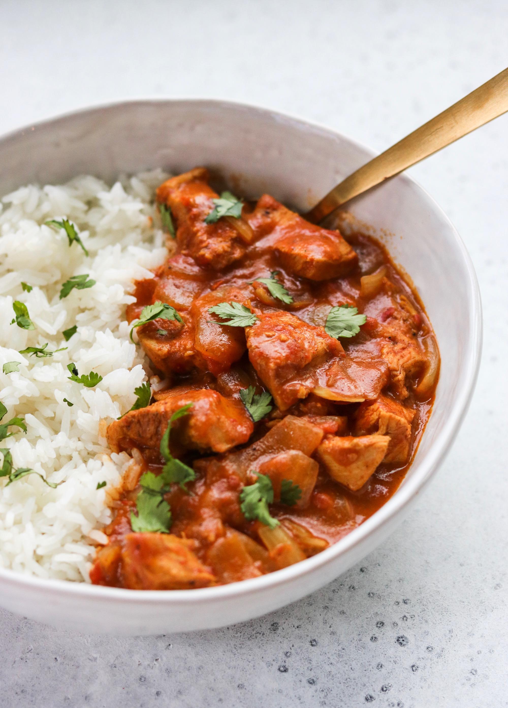 chicken tikka masala instant pot