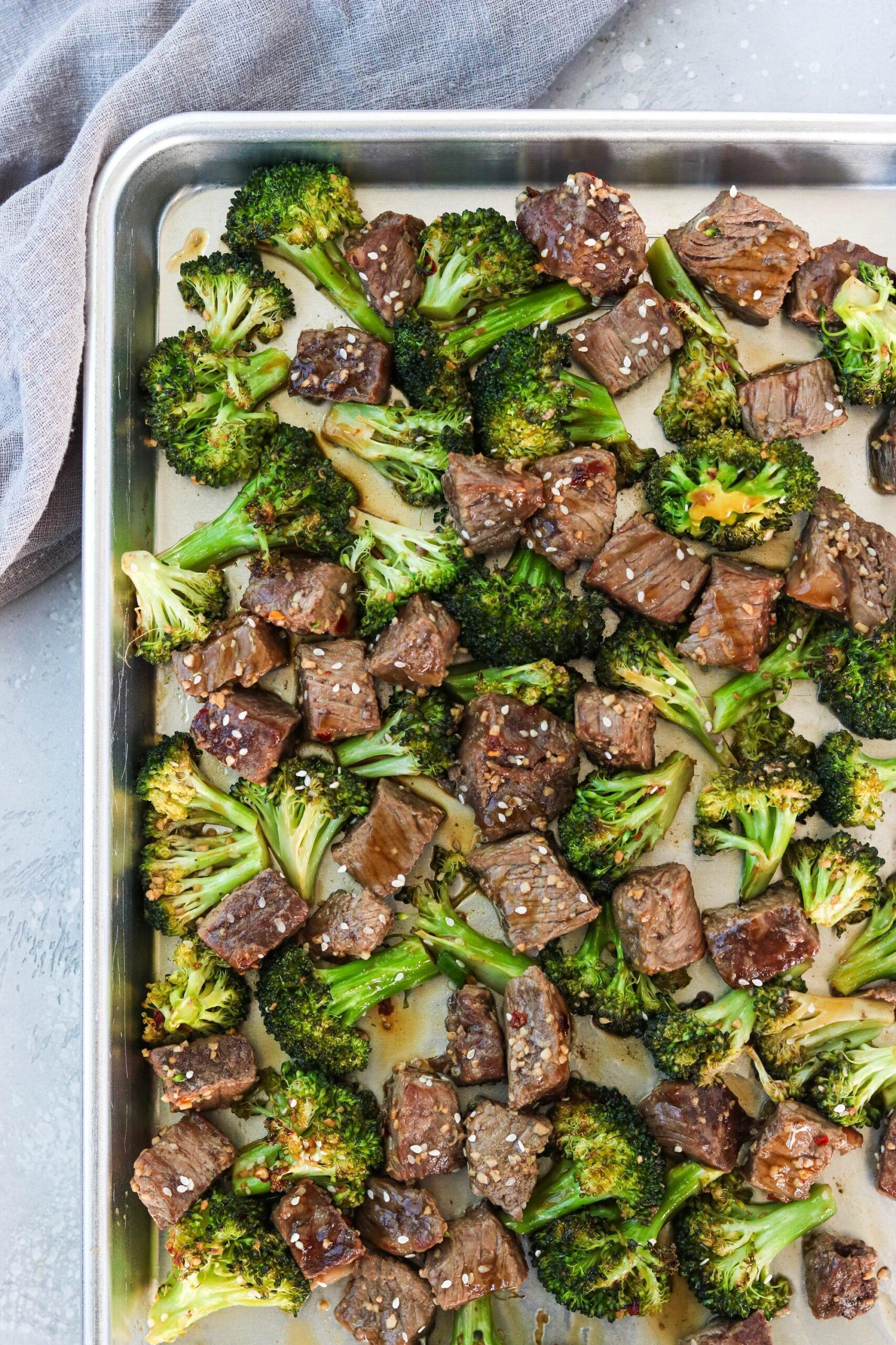 Sheet Pan Beef And Broccoli Whole30 Keto Mary S Whole Life