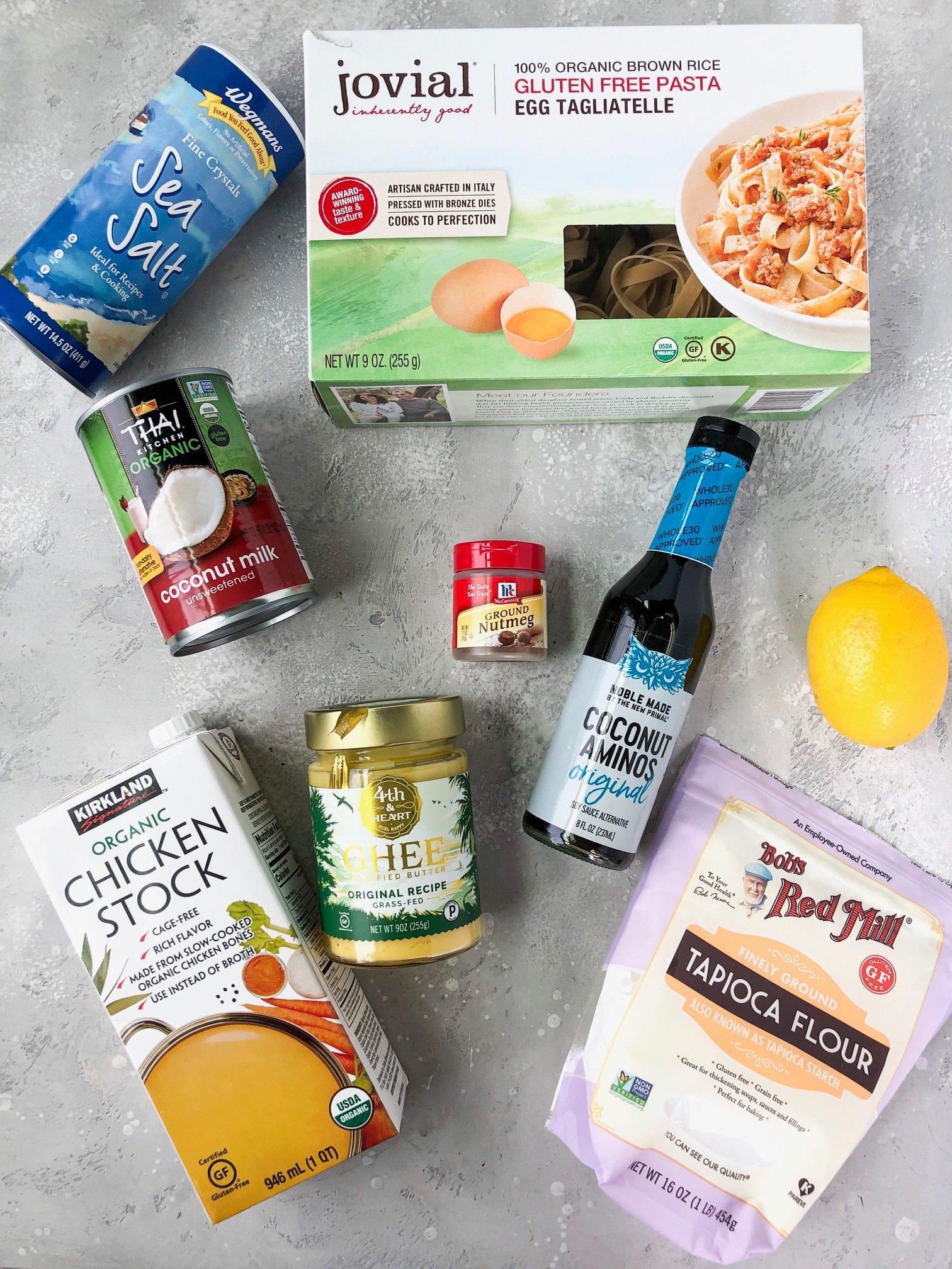 ingredients for paleo swedish meatballs