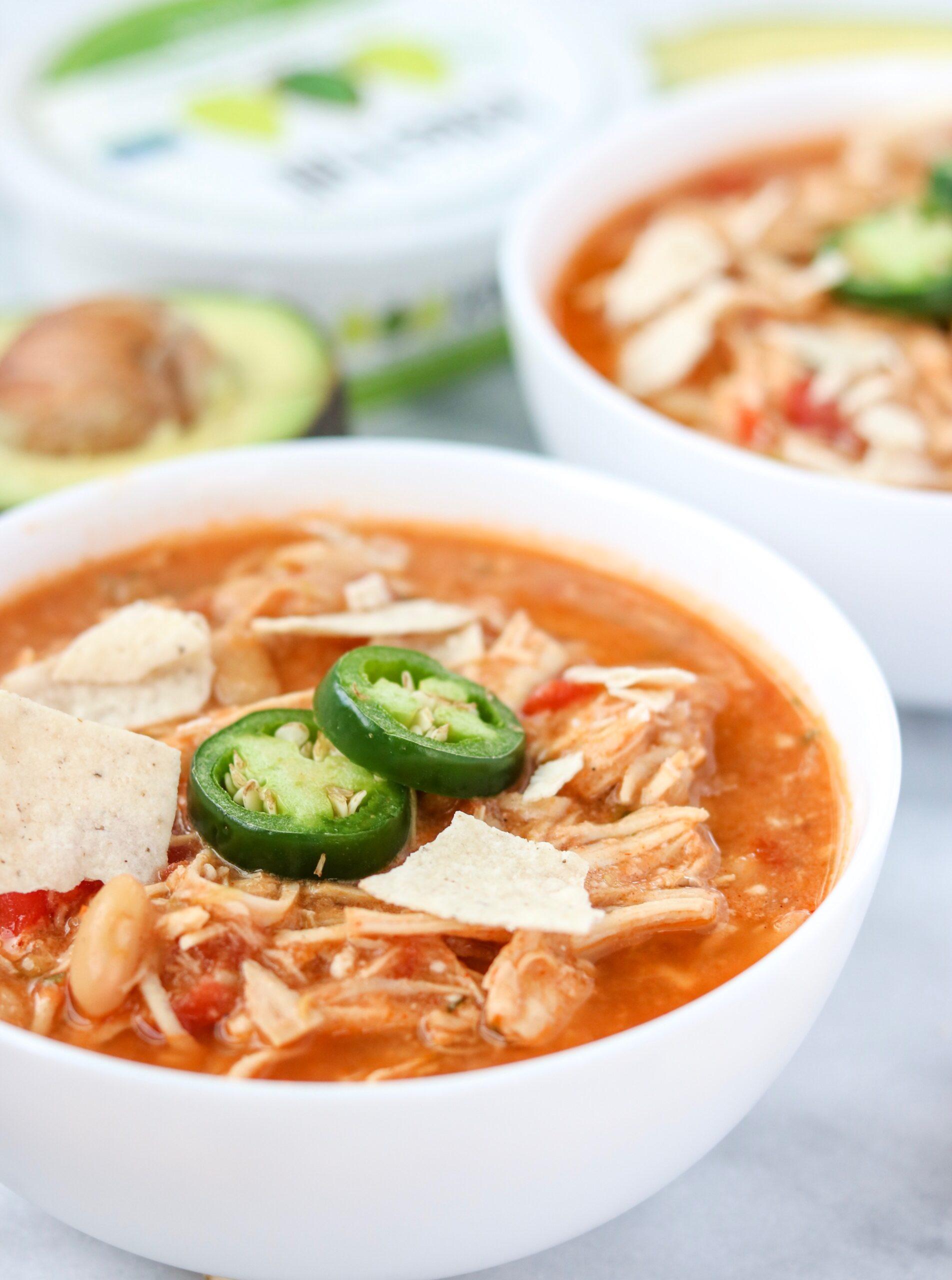 chicken tortilla chili