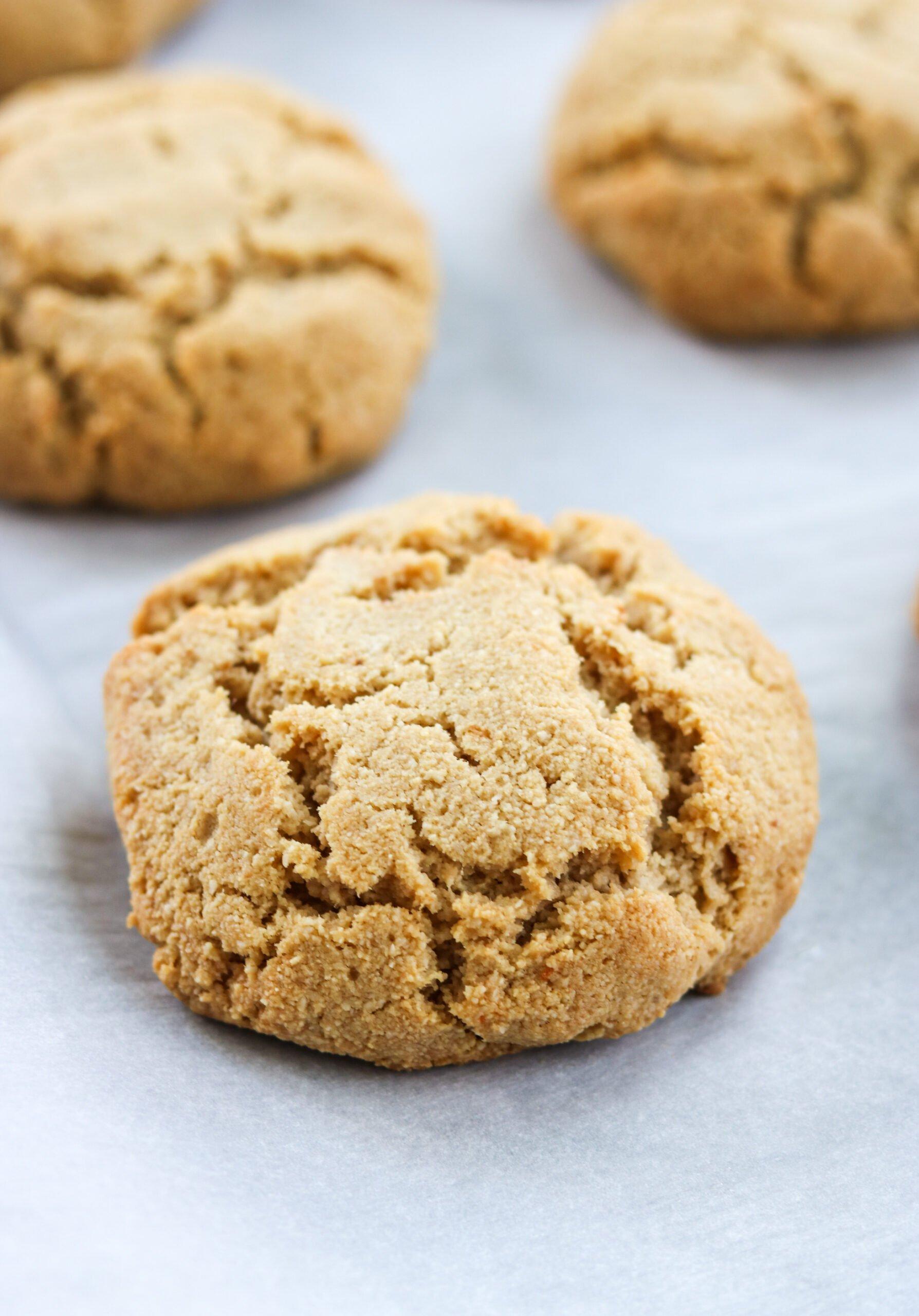 Paleo Strawberry Shortcake grain free biscuit