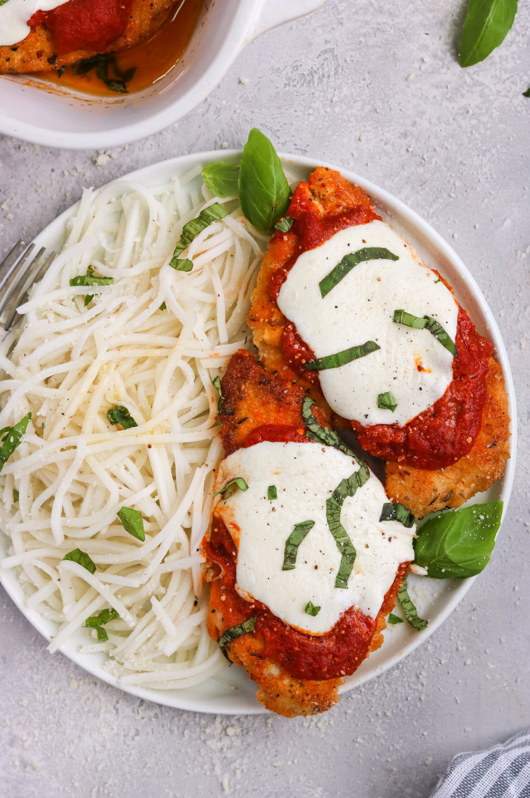 Grain free & Keto chicken parmesan