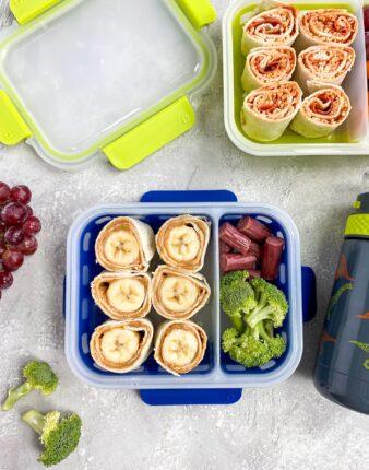 Back to School Lunch Box Pinwheel Ideas