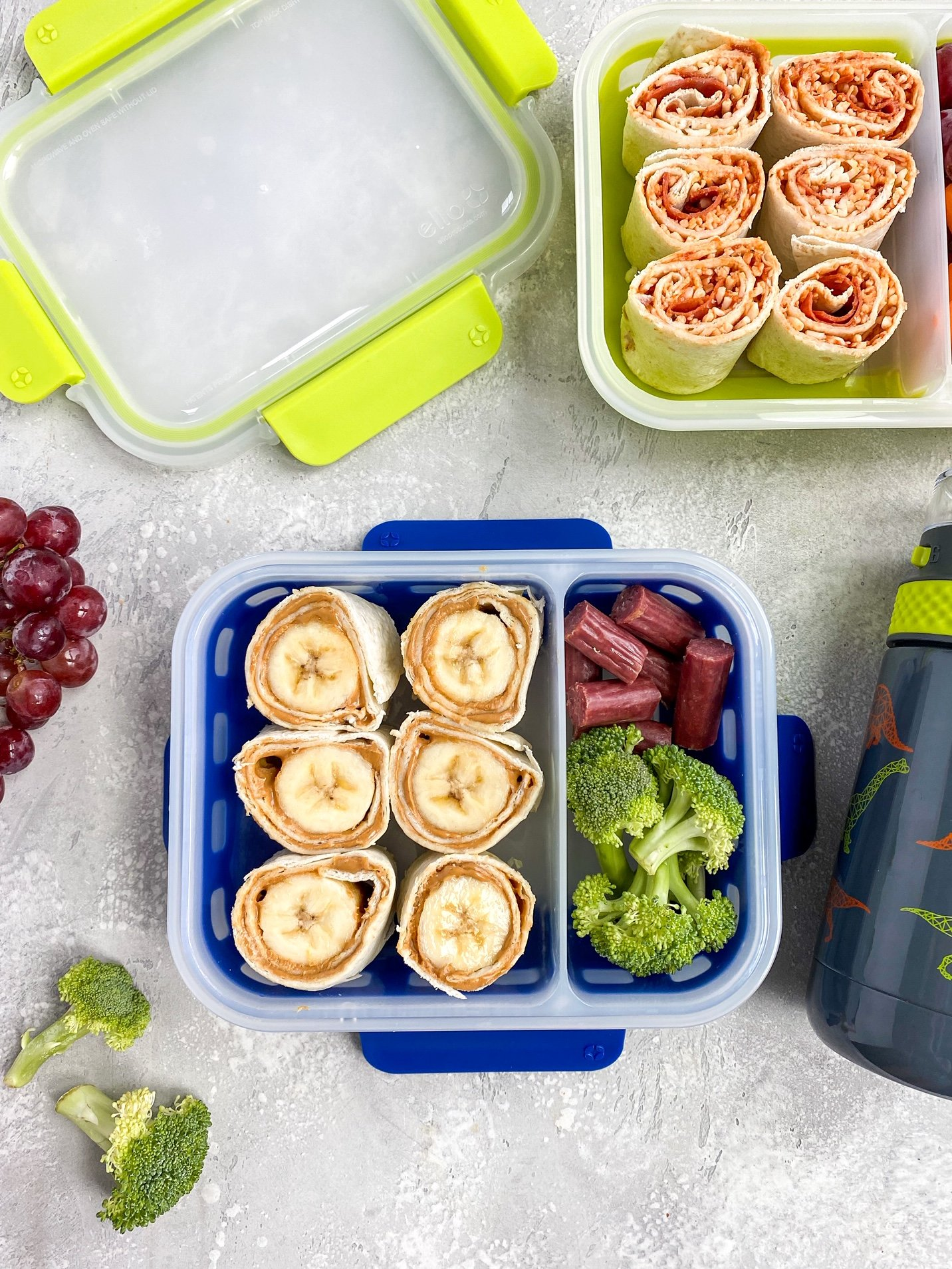 kids lunchbox pinwheel ideas