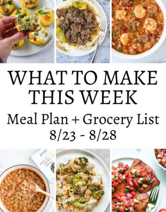 What To Make This Week 8/23-8/28