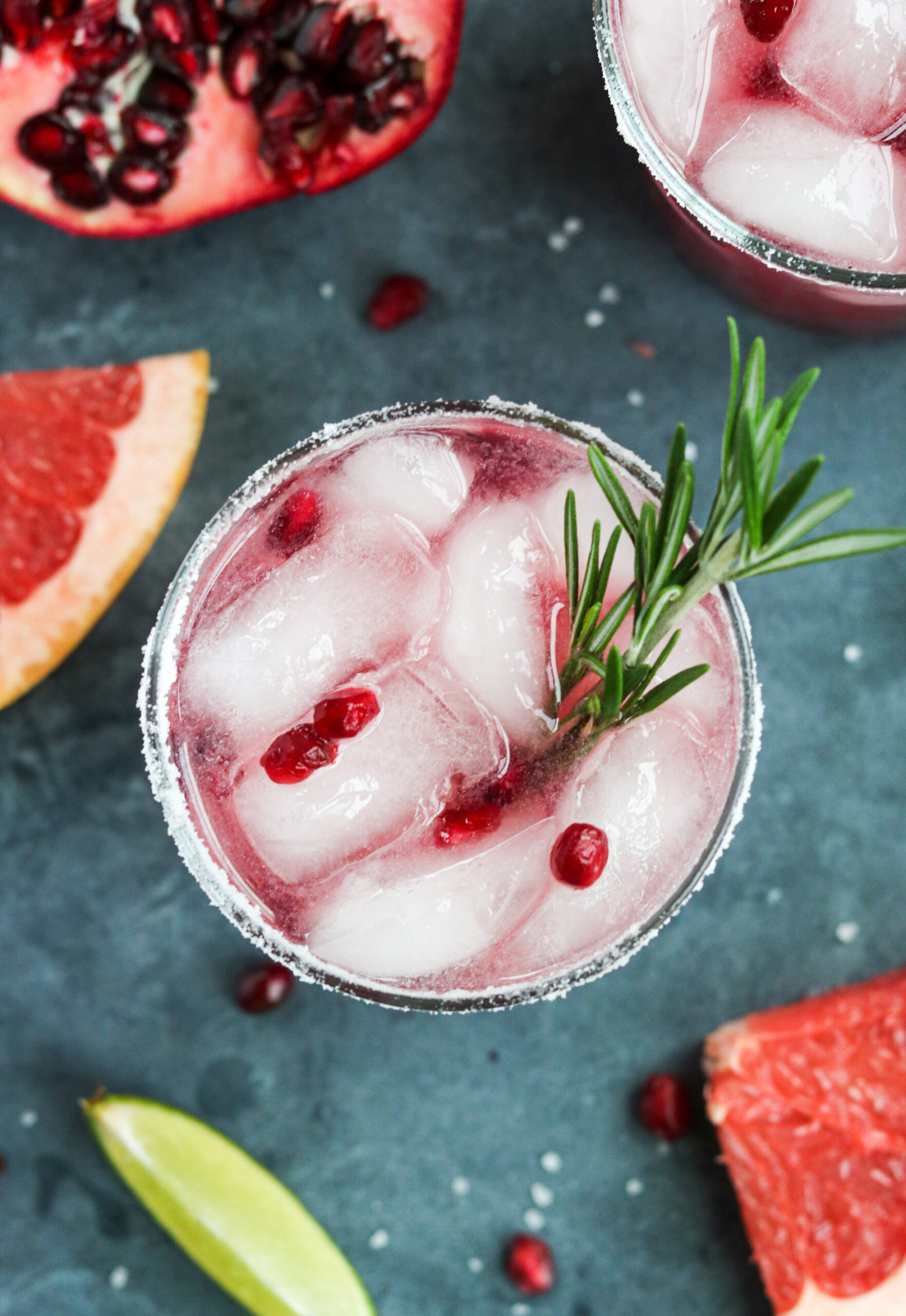 pomegranate tequila cocktail