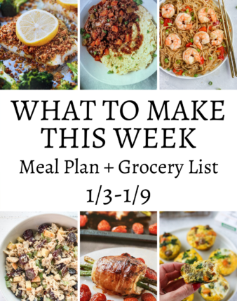 What To Make This Week 1/3-1/9