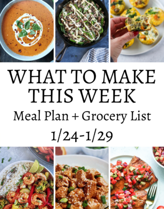 What To Make This Week 1/24-1/29
