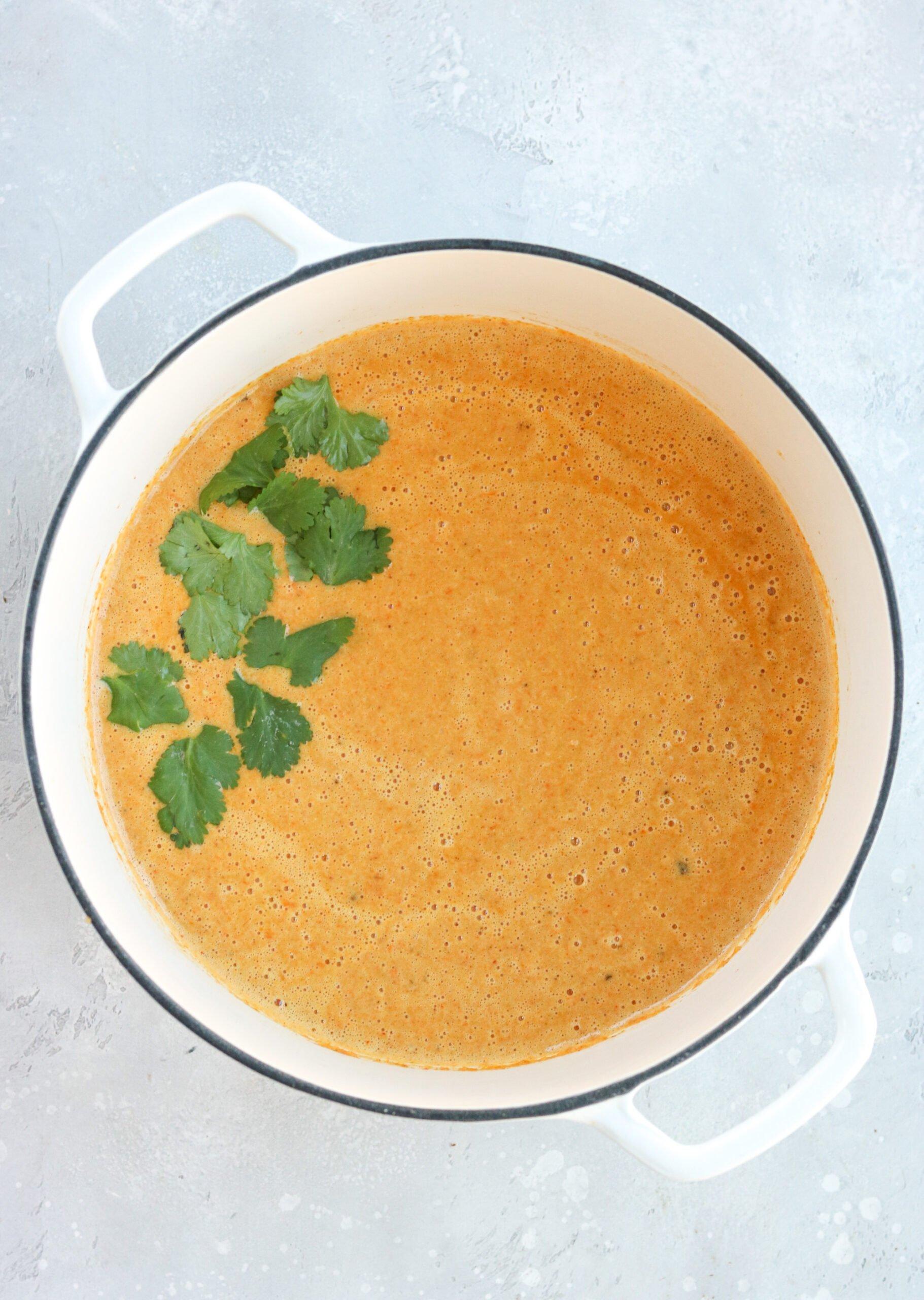 curried cauliflower carrot soup