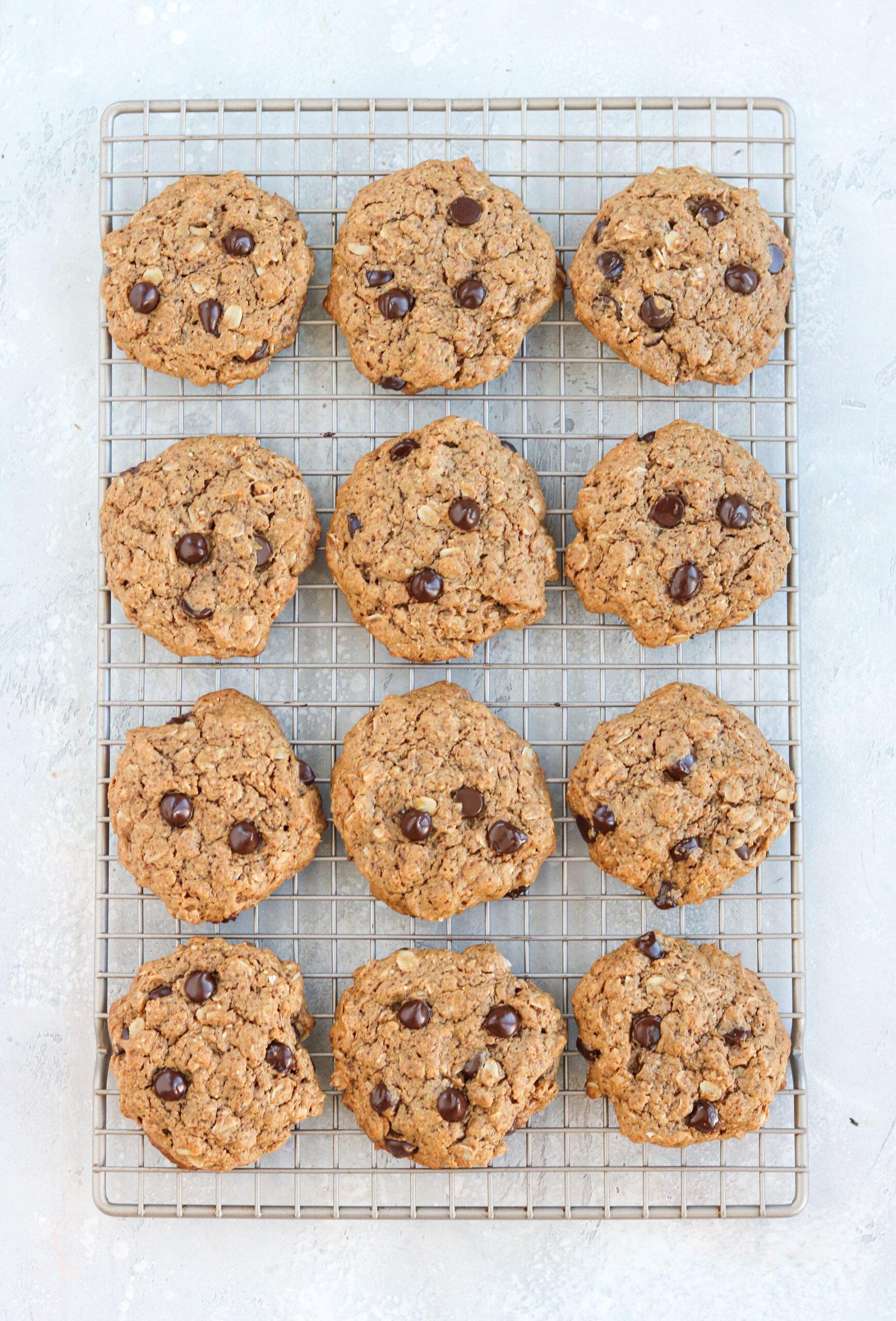 gluten free chocolate almond butter cookies