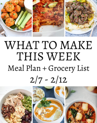 What To Make This Week 2/7 – 2/12