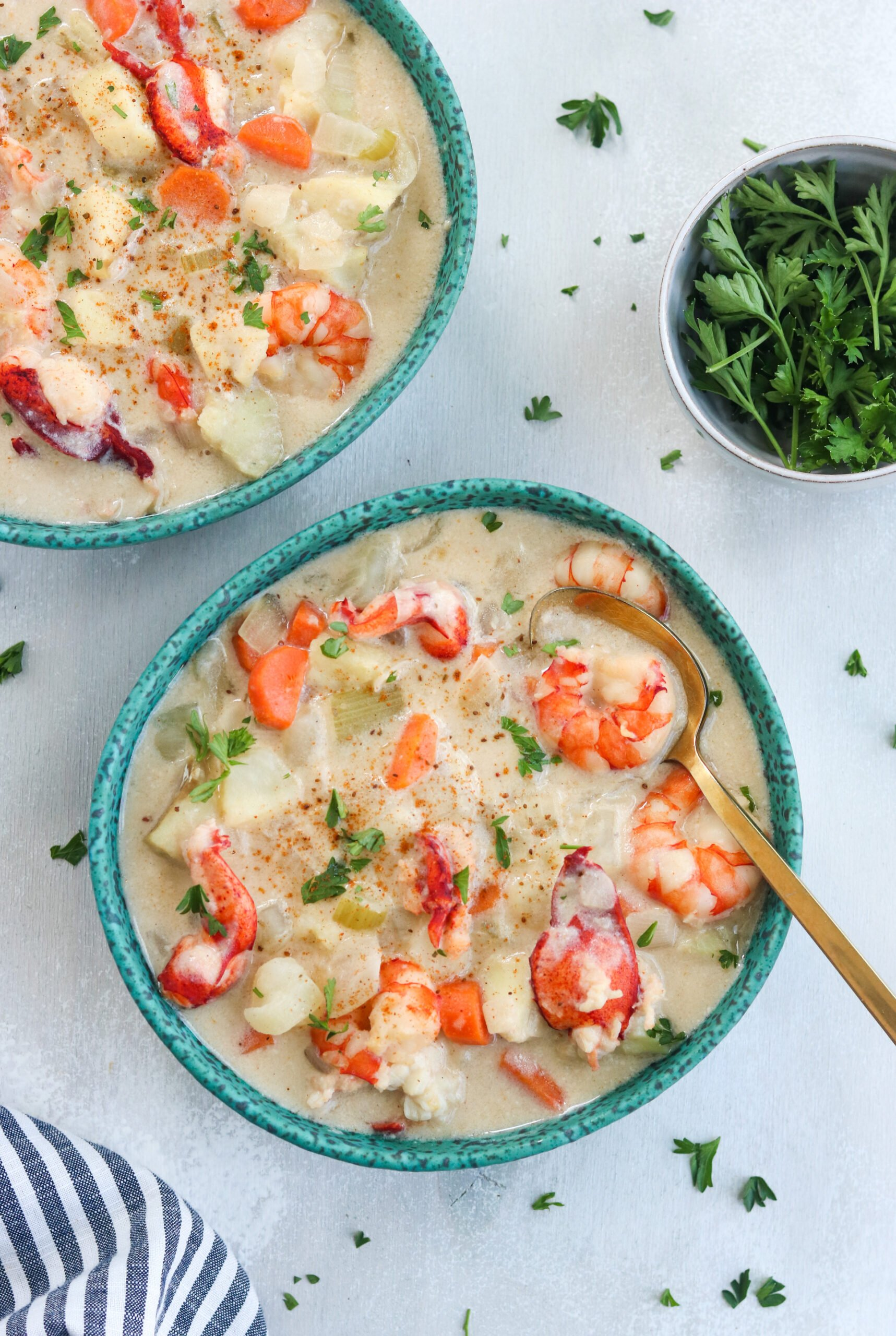Chowder of Seafood
