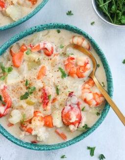 Paleo Seafood Chowder