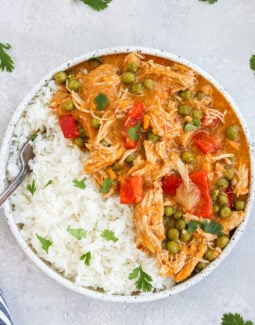 Instant Pot Chicken Curry with Sweet Potatoes Paleo