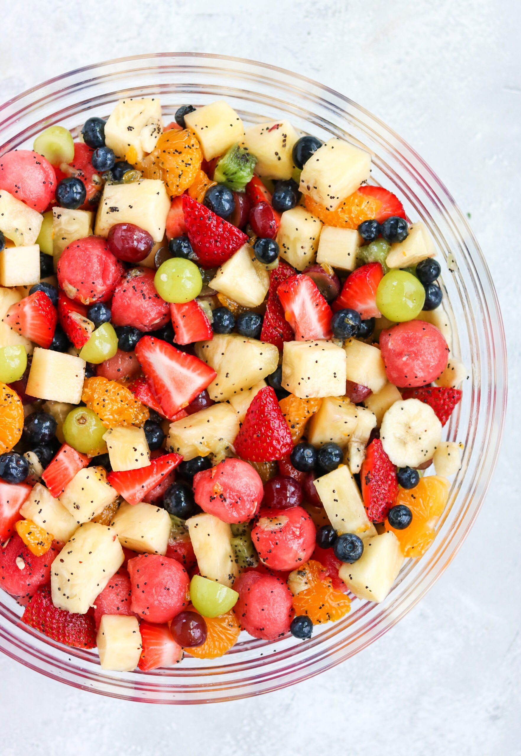 a bowl of fruits