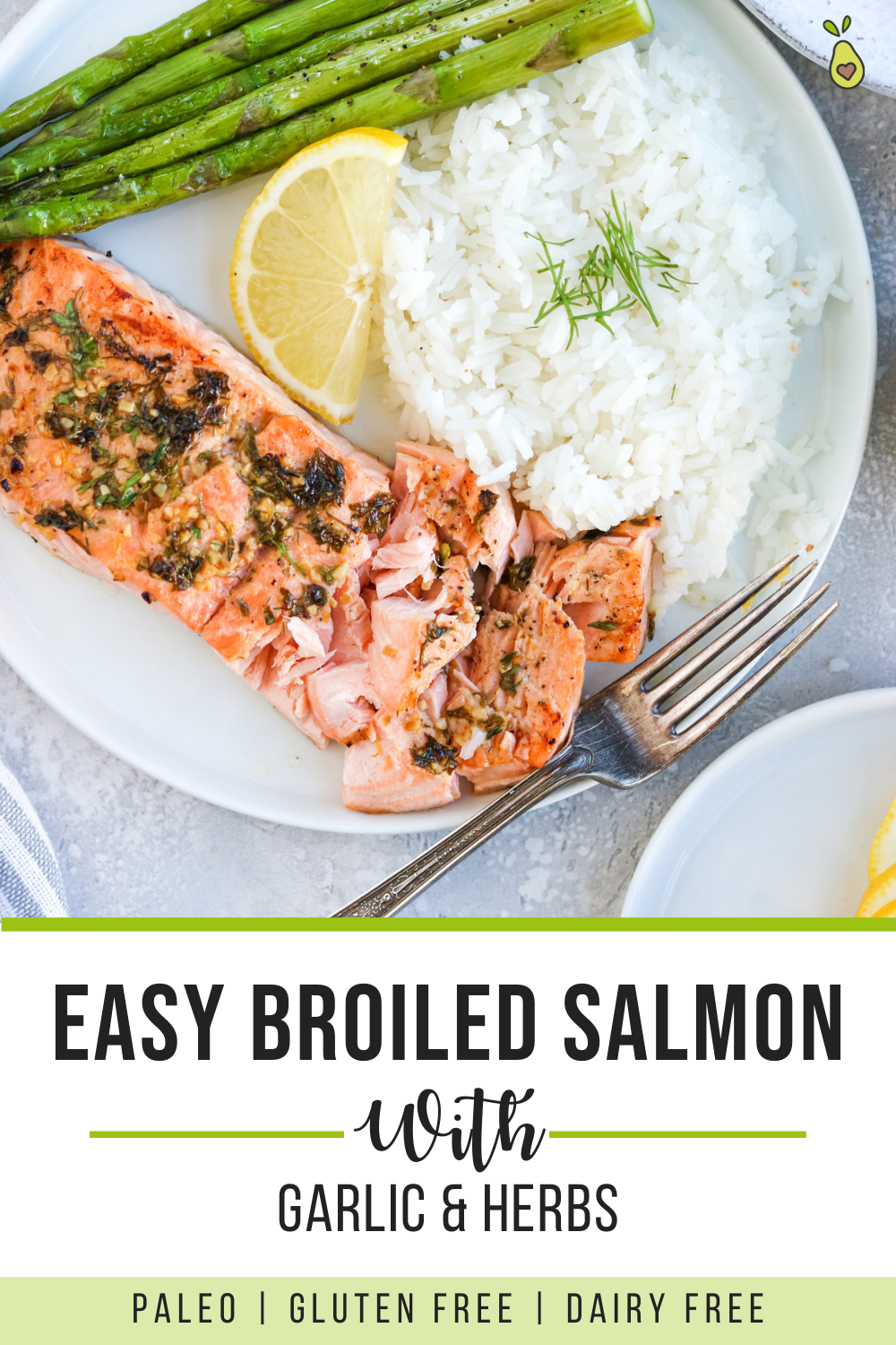 Easy Broiled Salmon
